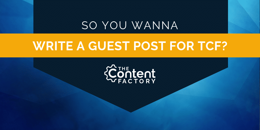 writing a guest blog post for tcf
