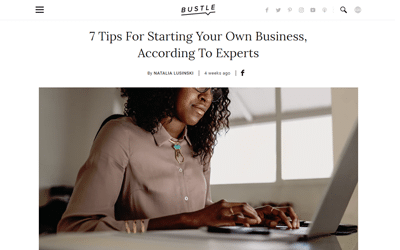 7 Tips For Starting Your Own Business, According To Experts