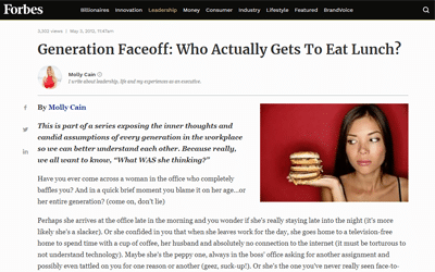 Generation Faceoff: Who Actually Gets To Eat Lunch?