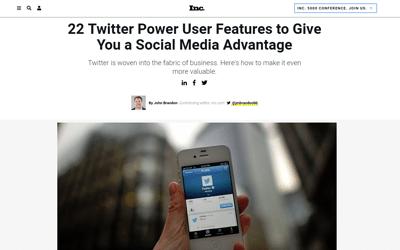 22 Twitter Power User Features to Give You a Social Media Advantage
