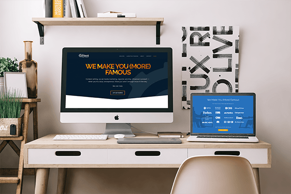web design and branding device mockups