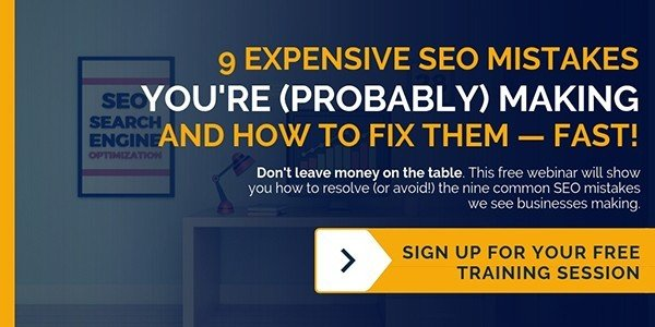 Free Webinar: How to Fix 9 Common SEO Mistakes