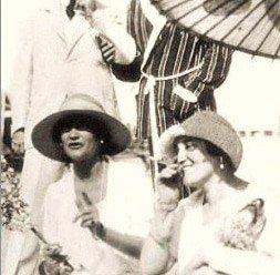 Coco Chanel and Misia Sert Venice