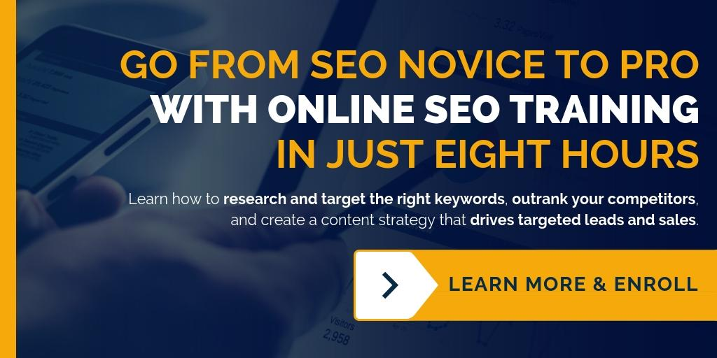 Get online marketing training for SEO and Content Writing