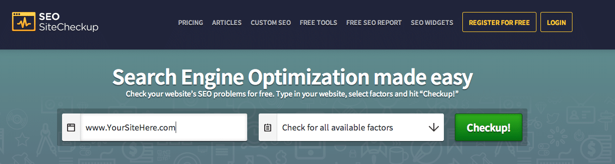 check your site SEO