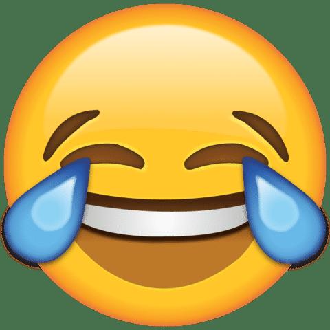 The tears of joy emoji is the most popular emoji on Twitter, according to Reddit