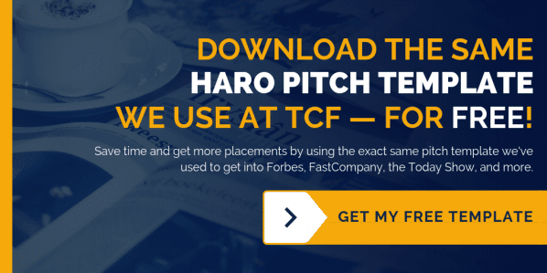The Content Factory HARO Pitch Template - How To Pitch On HARO