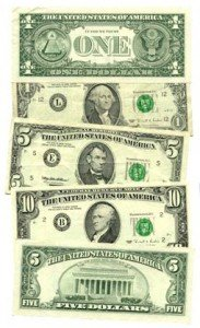US United States Currency Federal Reserve