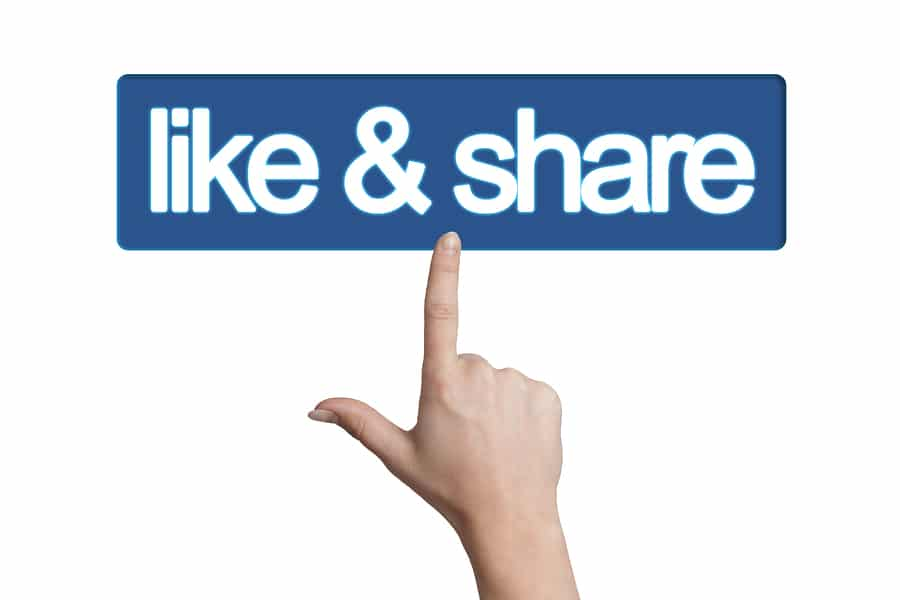 facebook marketing strategy like share