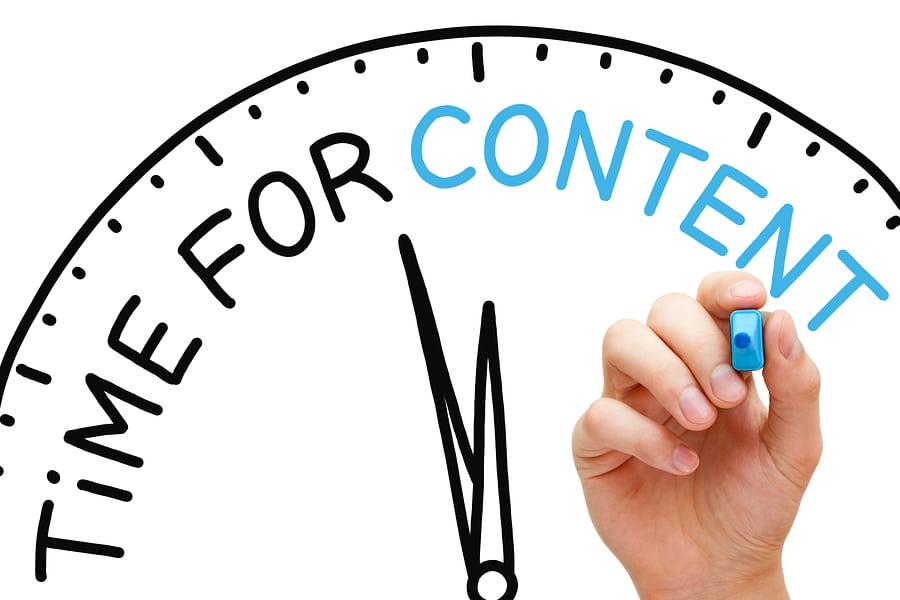 Time For Content Marketing