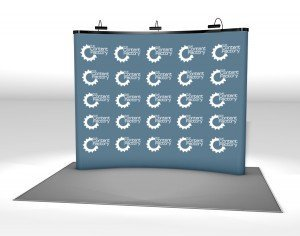 step and repeat background promotional material advertising